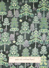 Hoffman Evergreen S#J9218 Christmas Tree Silver Accent Green Cotton Fabric YARD