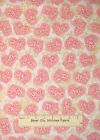 Hoffman Sweethearts Romance Love Heart Toss Swirls Gold Gild Cotton Fabric YARD