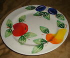 ANCORA Fruit Apple Pear Plum CHOP Plate Platter Made In ITALY