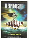 G5016 THE SEVENTH SEAL INGMAR BERGMAN CHESS rare SPANISH PRESSBOOK