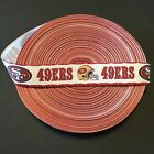 78 San Francisco 49ers Border Grosgrain Ribbon By The Yard Usa Seller