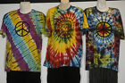 Tie dye Peace Buddha t-shirt top hippie yoga Nepal cotton Unisex Beach casual 18