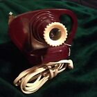 VINTAGE VIEW-MASTER JUNIOR PROJECTOR MAROON COLOR BAKELITE TOY MADE IN THE  USA