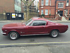 1965 Ford Mustang Fastback in Burgundy 289 C Code V8 C4 automatic