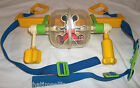Vtg USA Gabriel BUSY GYM Crib Toy Chime Ball Mickey Mouse Disney Child Guidance