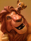 WDCC Lion King Pals Forever SIMBA and MUFASA Disney Classic Collection Figure