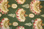 RJR Quilt Fabric 3/4 Yard BOWOOD HOUSE Robyn Pandolph Cotton NEW 2011 Green RARE