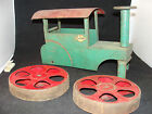 1920s Steelcraft Murray Pressed Steel Steam Roller Mechanical Ride On Truck Car