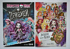 2 pcs 2015 Catalog Monster High Ghost + Ever After High Doll Accessories book
