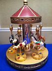 spoontique carousel with 6 circus animals, ALL AGES WOULD ENJOY