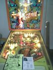 GOTTLIEB GENIE PINBALL VERY NICE! Will Ship!, NO RESERVE!