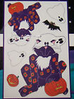 FABRIC PANEL Daisy Kingdom Halloween No Sew Appliques Cat Ghost Quilt Clothing