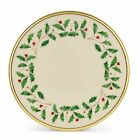 Lenox Holiday Gold Banded Ivory China Salad Plate