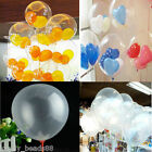 Wholesale 20 50 100 Transparent Latex Balloons Birthday Wedding Party Decor 10