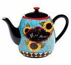 Certified International French Barnyard Teapot, Multicolor