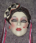 CLAY ART CERAMIC MASK...CARNIVAL.. EXTREMELY RARE!
