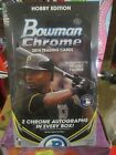 2014 Bowman Chrome Baseball Hobby Box Factory Sealed