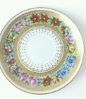 Vintage 5.5 inch Lefton 2421 Saucer for Tea Cup Gold in pattern Hand Painted