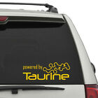 Powered By Taurine Decal Energy Drink Red Bull Rock Star Sticker Free Shipping