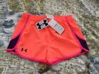 NWT UNDER ARMOUR GIRLS HEAT GEAR SHORTS YOUTH LARGE
