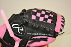 Rawlings Players Series 9-inch Youth Baseball Glove (PL90PB) (Hot Pink,Black)