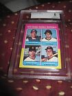 GARY CARTER ROOKIE CARD RC 1975 TOPPS #620 MINI BECKETT GRADED 8 NM-MINT BVG BGS