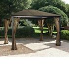 New!! Gazebo Hard Top Canopy Outdoors Summer Shade Sturdy 10x12