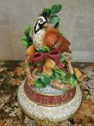 FITZ & FLOYD MUSIC BOX 12 DAY OF CHRISTMAS 1 PARTRIDGE IN A PEAR TREE
