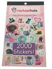 RACHAEL HALE STICKERS COLLECTORS SET DOGS  CATS STICKER BOOK