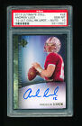 PSA 10 ANDREW LUCK 2012 UPPER DECK ULTIMATE COLLECTION AUTO RC SHORT PRINT *GEM