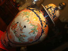 Antique Japanese Imari Temple Covered Jar Vase 37