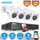 SANNCE 8CH 960H HDMI CCTV Video Outdoor 700TVL HD Home Security Camera System 1T