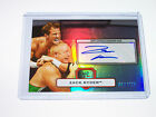 2010 WWE Topps Platinum Autograph Zack Ryder 271 Auto ECW Major Brothers