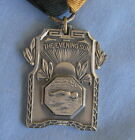 Art Deco Sterling Silver Swimming Medal Ribbon The Evening Sun