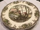 Willow By The Brook The Friendly Village Johnson Bros England Round Platter