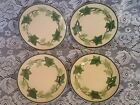 Lot of 4 - FRANCISCAN IVY China Bread/Butter Plates 1963-70 Vintage - 6 1/2