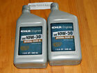 kohler OEM engine oil 10W 30 2qts Fits Bolens  Ride a Matic Eliminators ect
