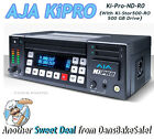 AJA Ki Pro Portable File-Based HD/SD Recorder and Player (No Drive) Ki-Pro-ND-R0
