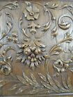 Antique French Renaissance Solid Oak Carved Wood Panel/Door - Much relief 1