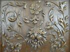 Antique French Renaissance Solid Oak Carved Wood Panel/Door  - Much Relief 2