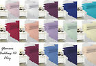 NEW Pillowcase single double king polycotton 19 colours Pillowcases bed bedding