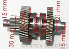 150cc GY6 157QMJ ATV engine W REVERSE Transmission Gears CHANGE WAY GEAR ASSY