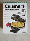 Cuisinart WMR-CA Classic Waffle Maker, Round Stainless Steel Brushed