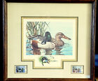 RICHARD TIMM 1983 Nevada Duck Stamps and Print Framed