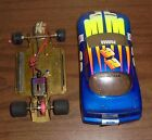 Ford Motorsports 1/24 Slot Car Drag Race Parma Brass Chassis