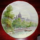 VTG ROYAL WORCESTER ENGLAND HAND PAINTED ST. PAULS CATHEDRAL SIGNED W.NICHOLLS