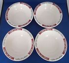 SYRACUSE China Restaurant Ware EMBASSY Soup Cereal  Fruit Bowls Set of 4