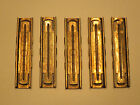 5 Stripper Clips for Mauser rifles: WW2 German, Yugo, M48, K98, 8mm Turkish, M24