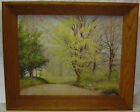 Listed Hudson River Valley Artist Theodore Shoudy Oil Painting on Masonite Board
