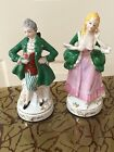 Antique Couple Figures